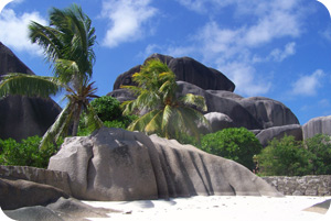 Anse Source d'Argent, un spectacle grandiose