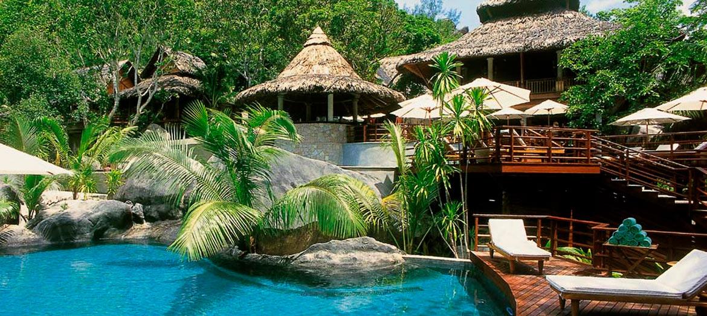 H tels aux seychelles for Villas de jardin mahe seychelles